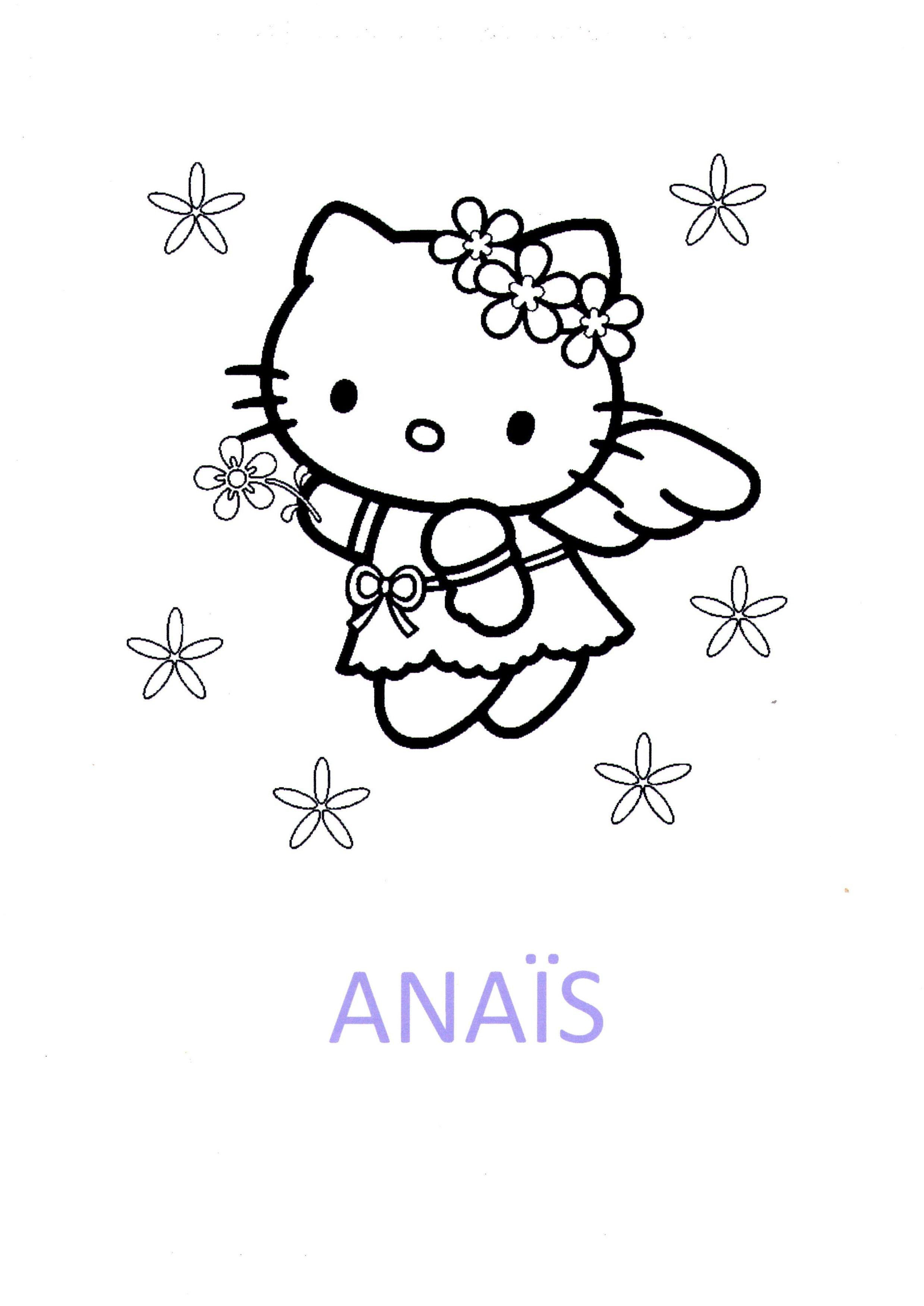 Coloriage pr nom anais - Coloriage prenom tag ...